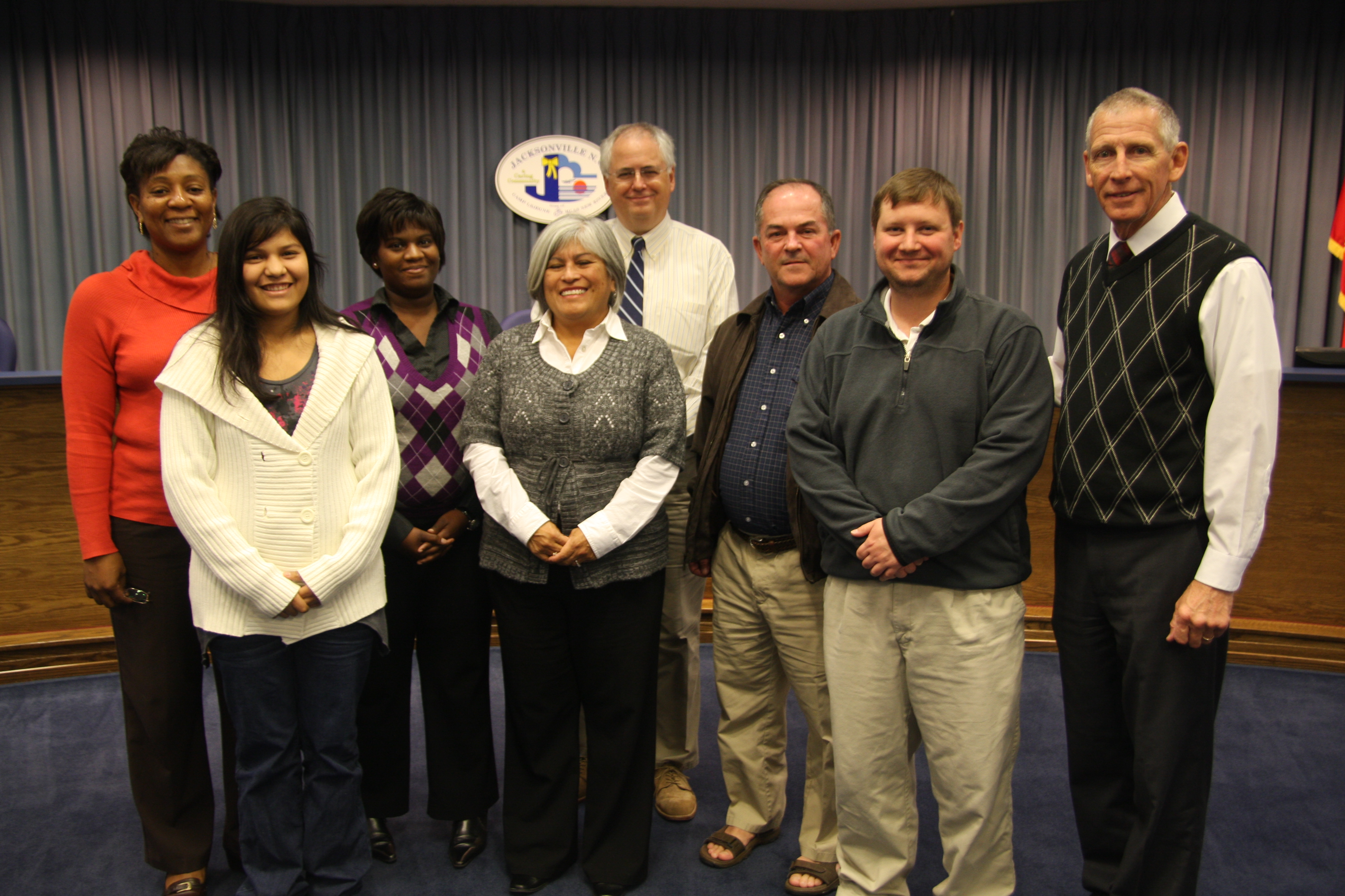 Fall 2012 Citizen Academy Graduates