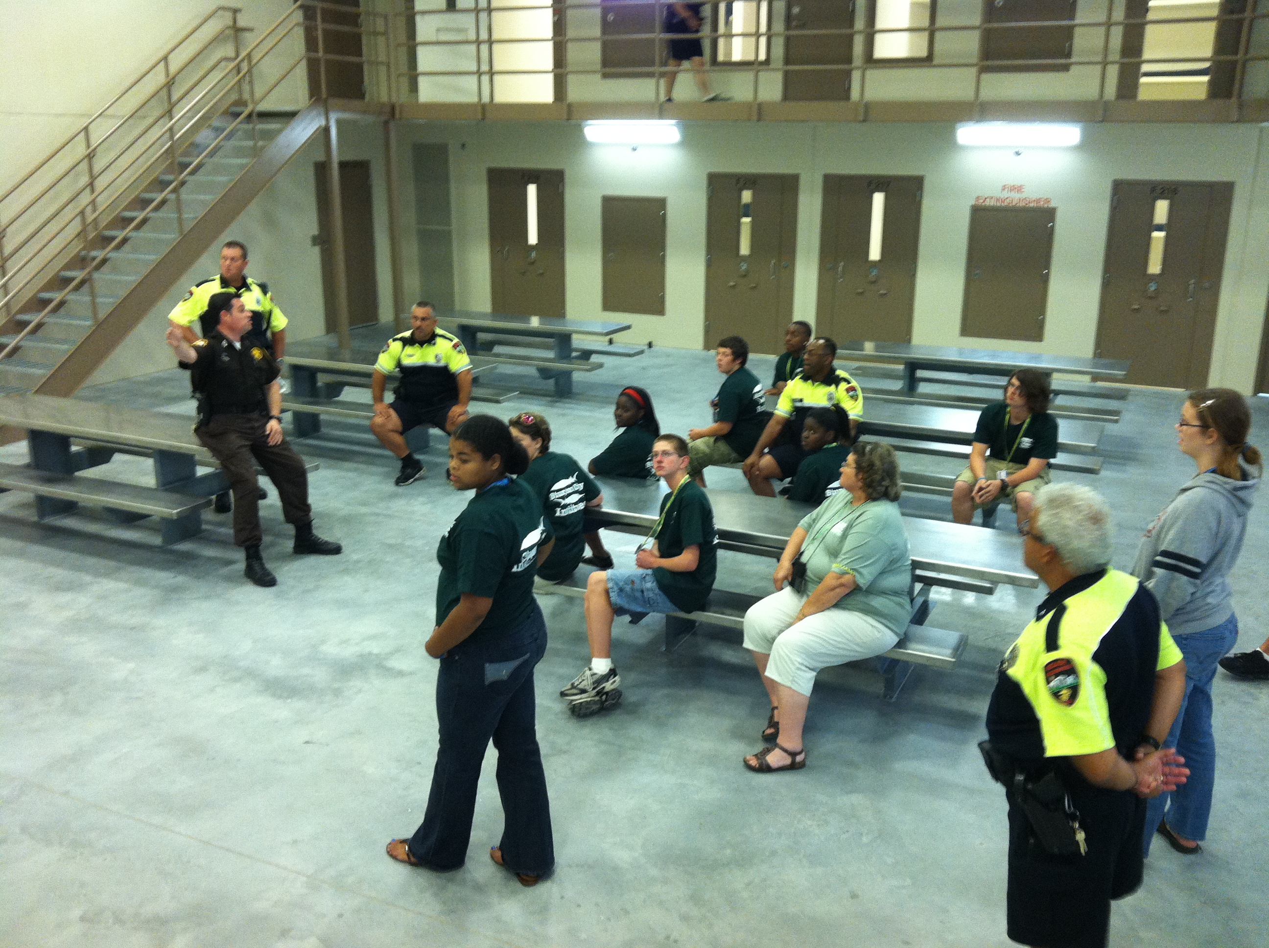 Public Safety Session indoors