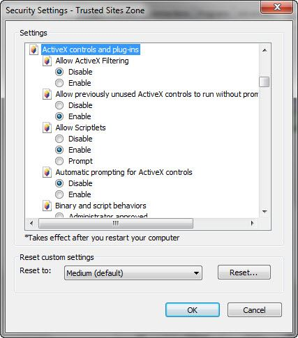 ActiveX Controls and Plug-ins