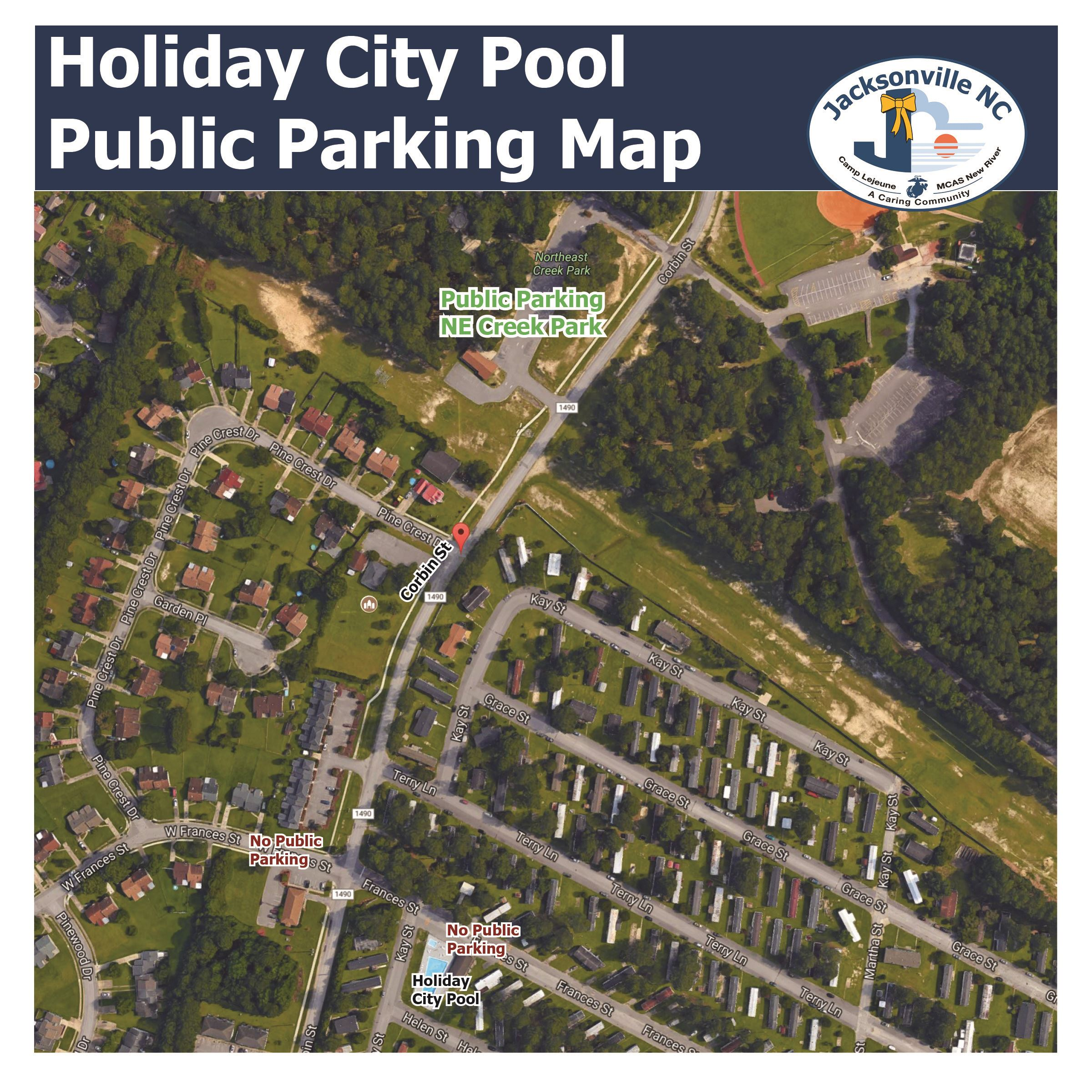 Pool Parking Map