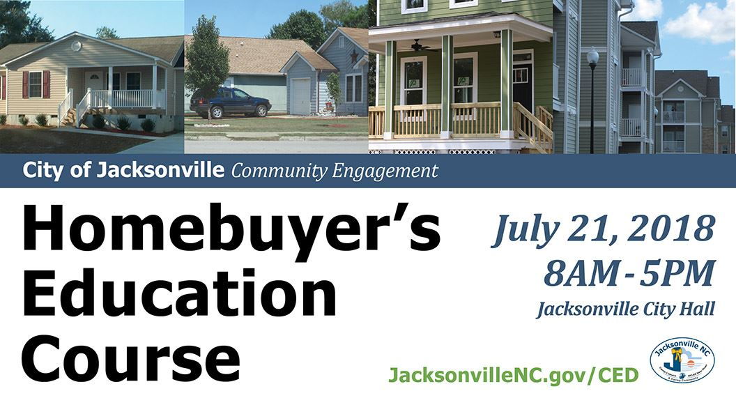 Homebuyer&#39s Education Course, July 2018