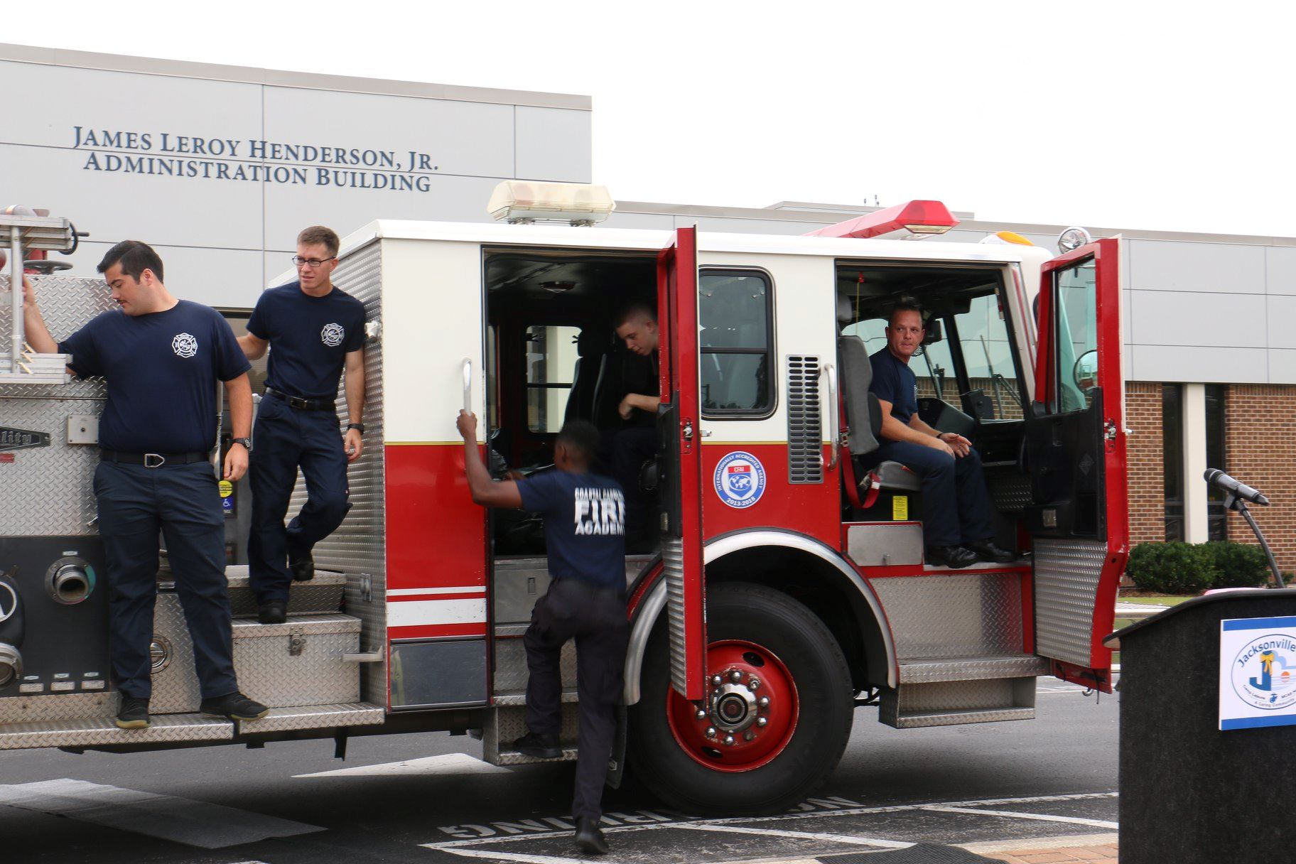 JFES Fire Truck Gifted to CCCC