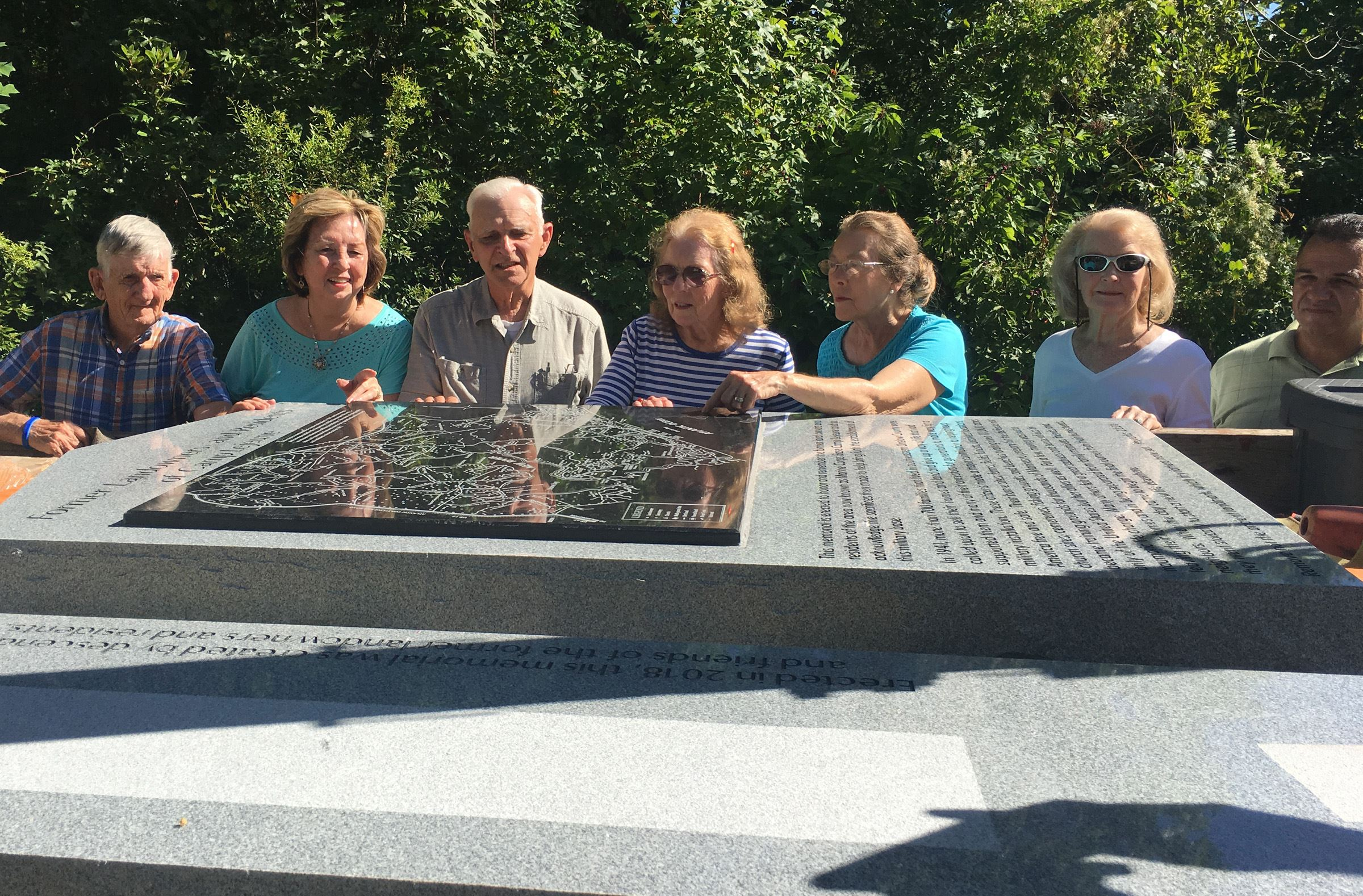 New Memorial for the Former Landowners of Camp Lejeune