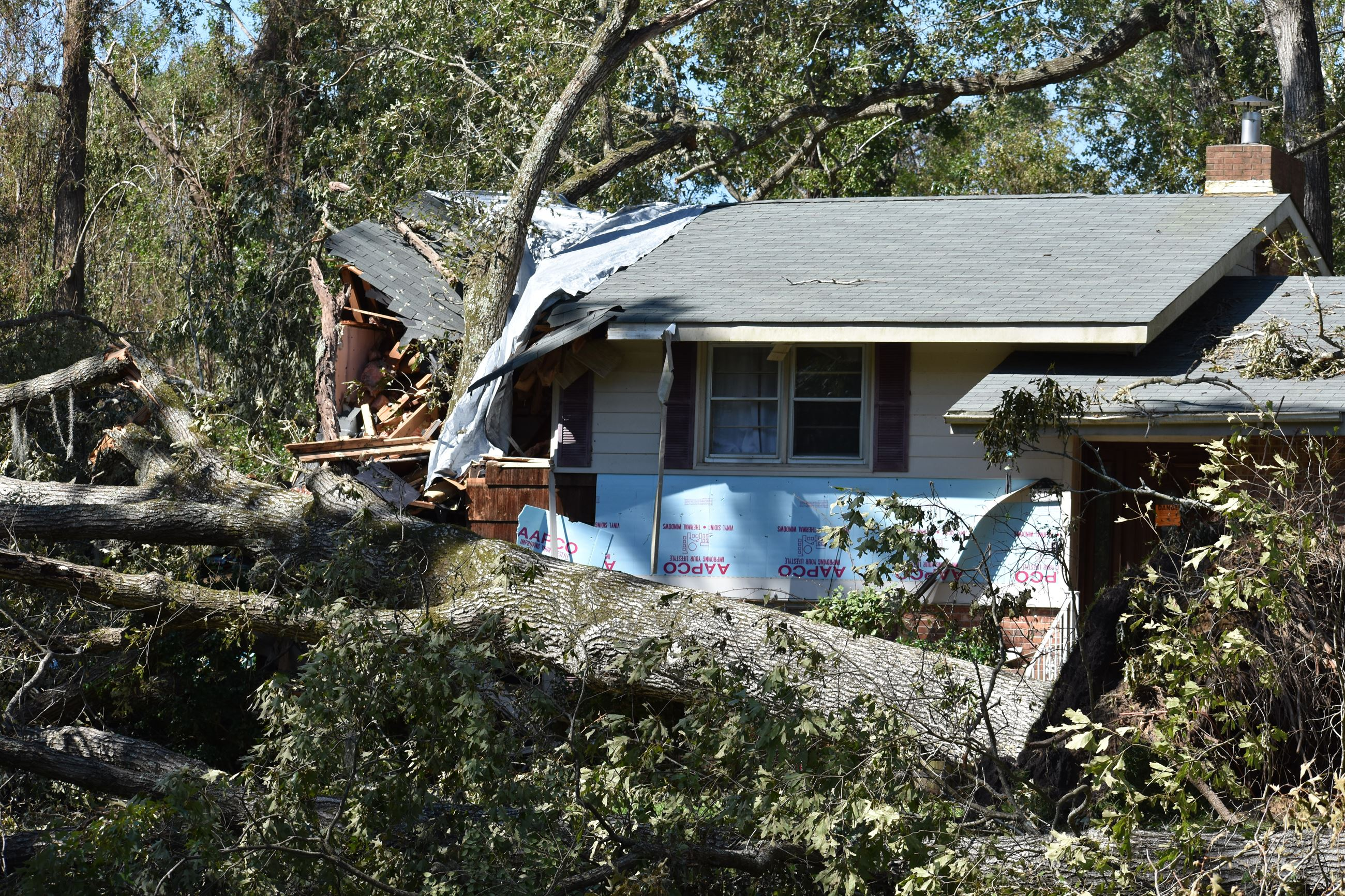 Hurricane Florence Storm Damage