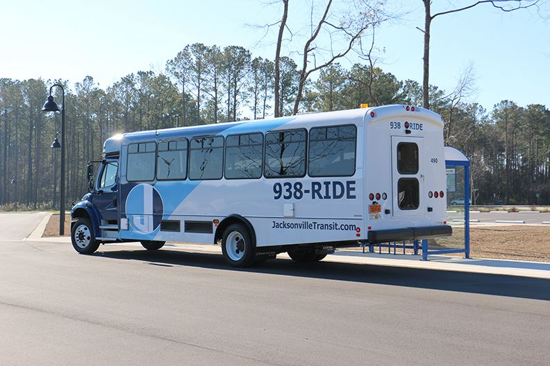 New look for Jacksonville Transit buses