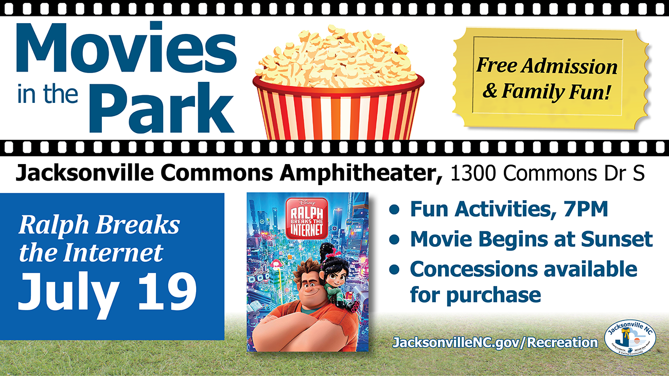 Movies in the Park Ralph Breaks the Internet