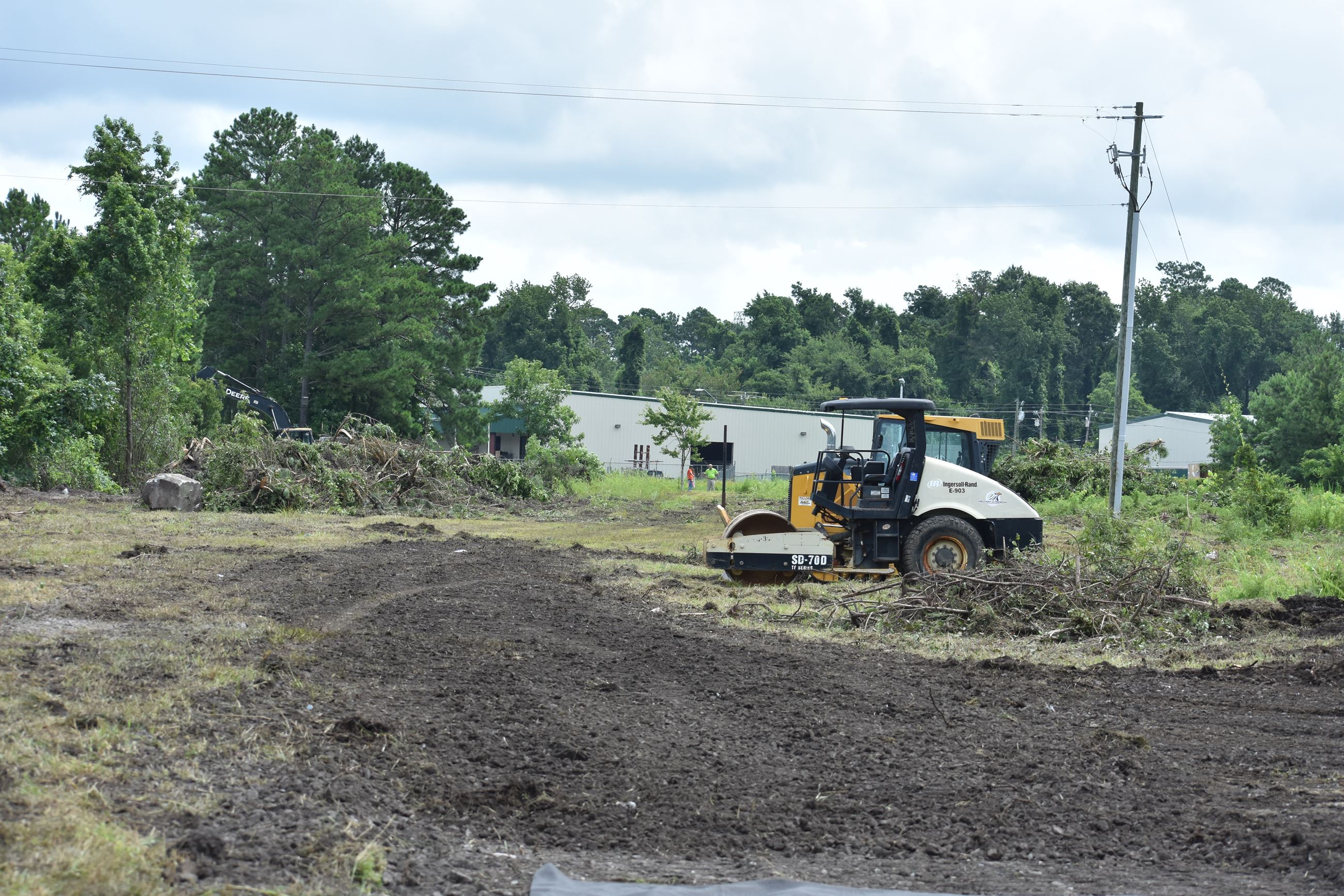 Jacksonville Station land clearing