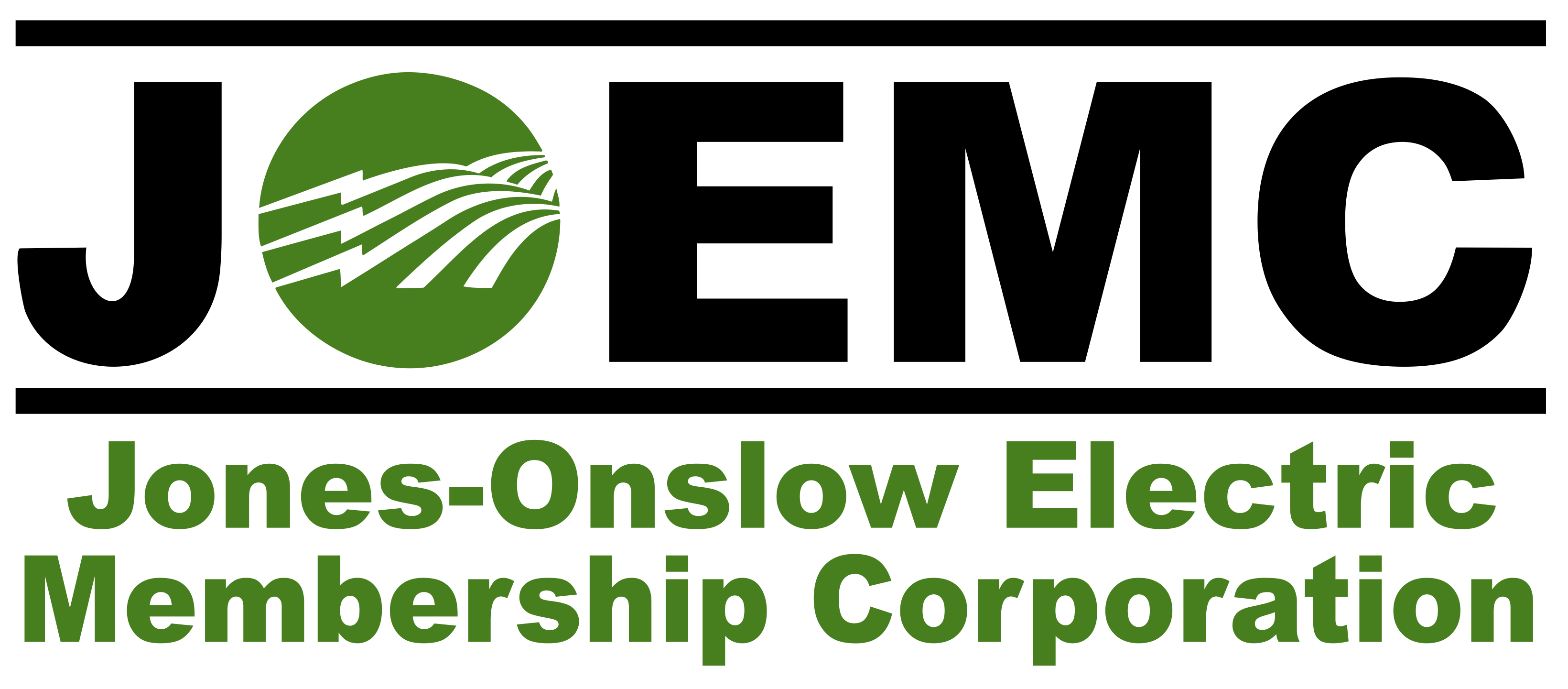 JOEMC - Jones-Onslow Electric Membership Corporation Logo Opens in new window