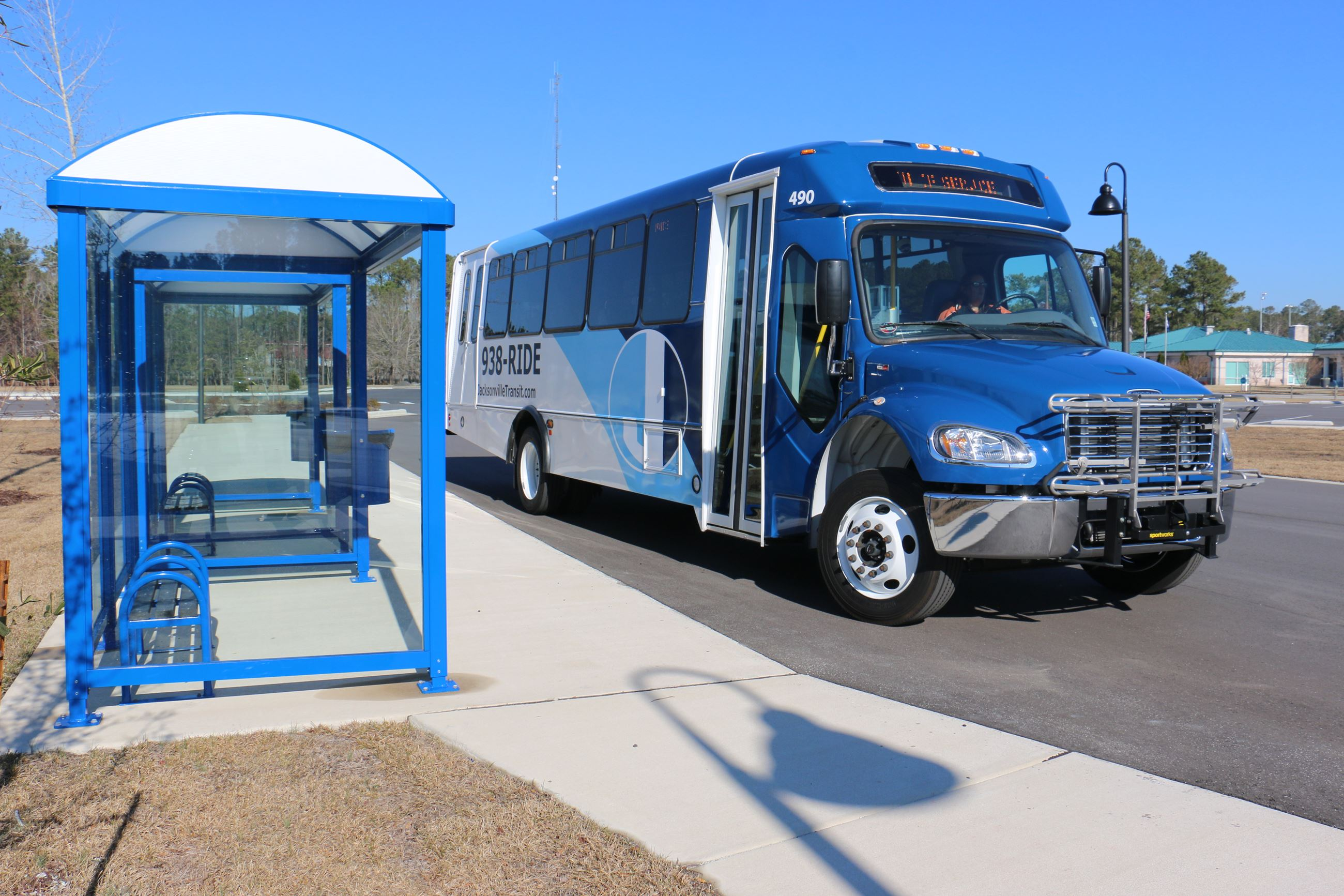 New Transit Bus Opens in new window