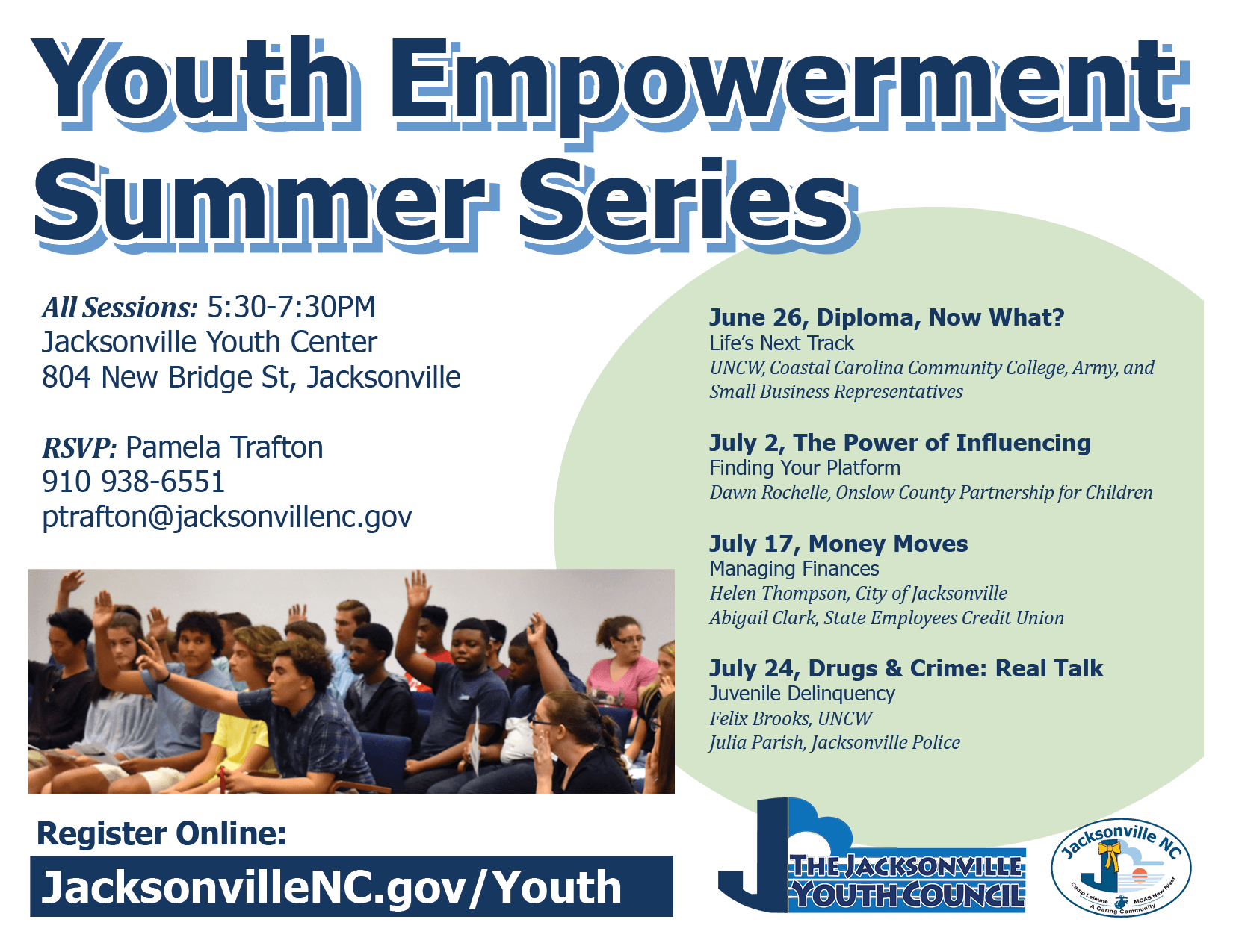 2019 Jacksonville Youth Council Summer Youth Empowerment Series