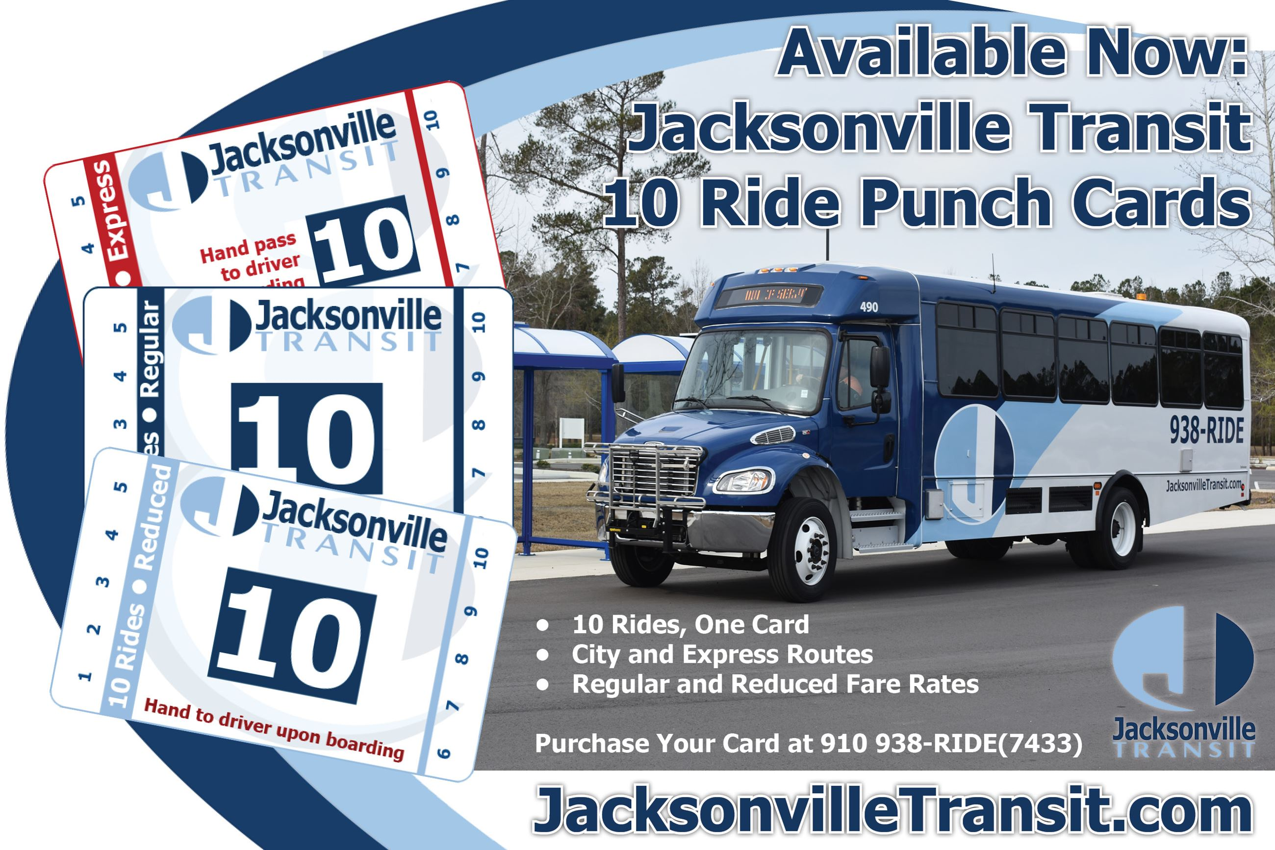 10 Ride Cards