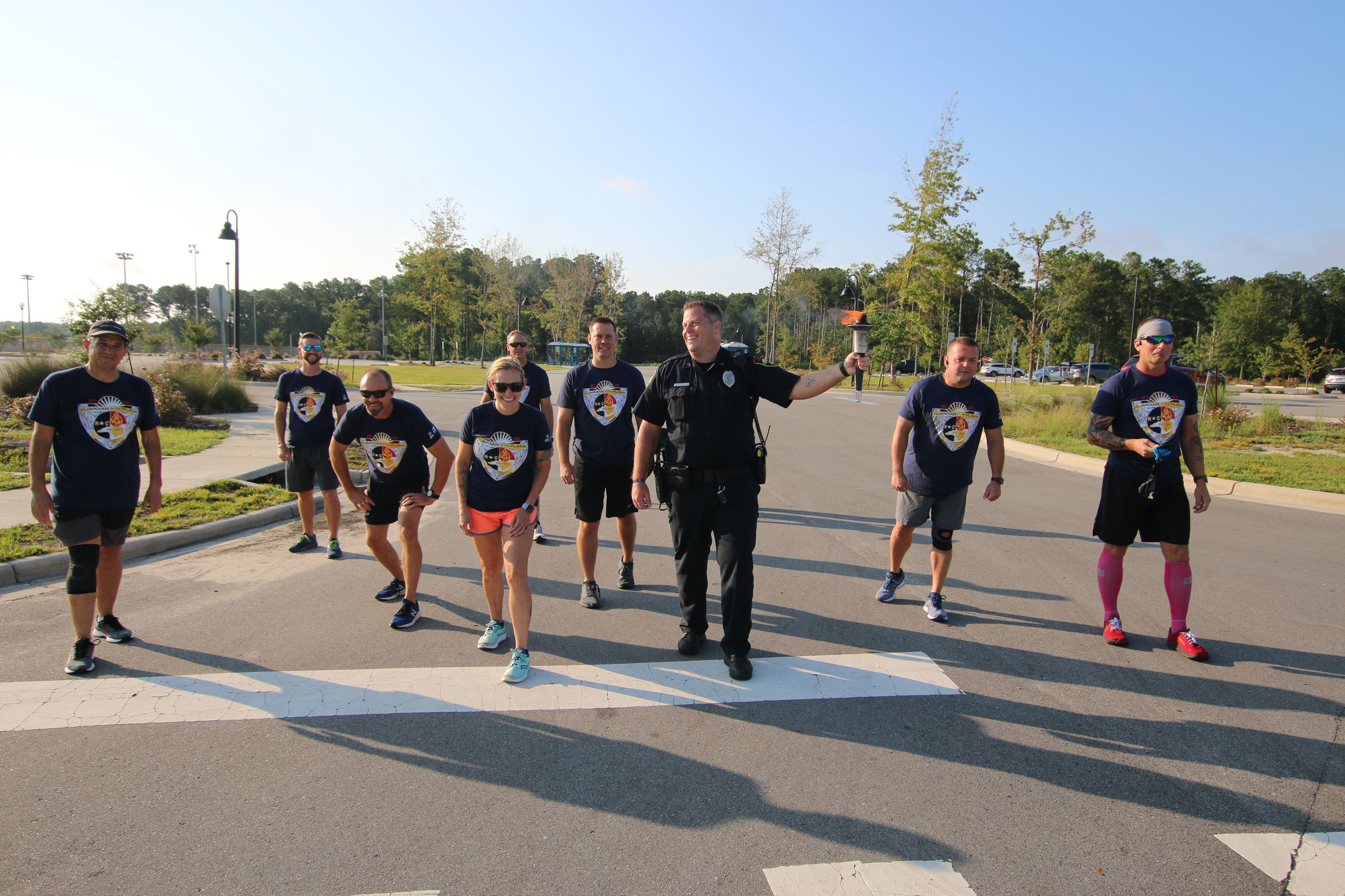 Running With the Law Virtual Run Kickoff  - Law Enforcement run the 5K Opens in new window