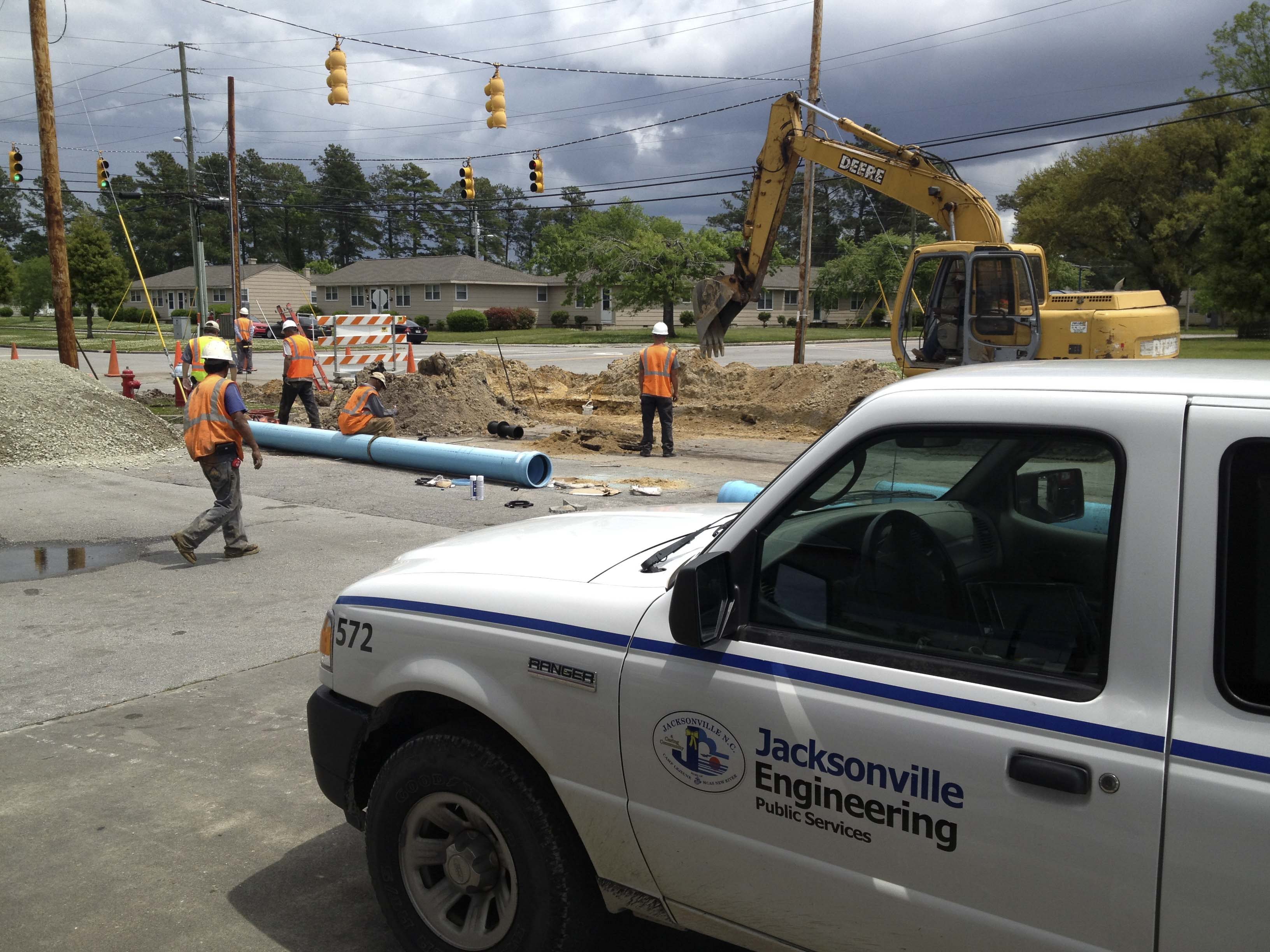 Hargett Street Sewer & Stormwater Project