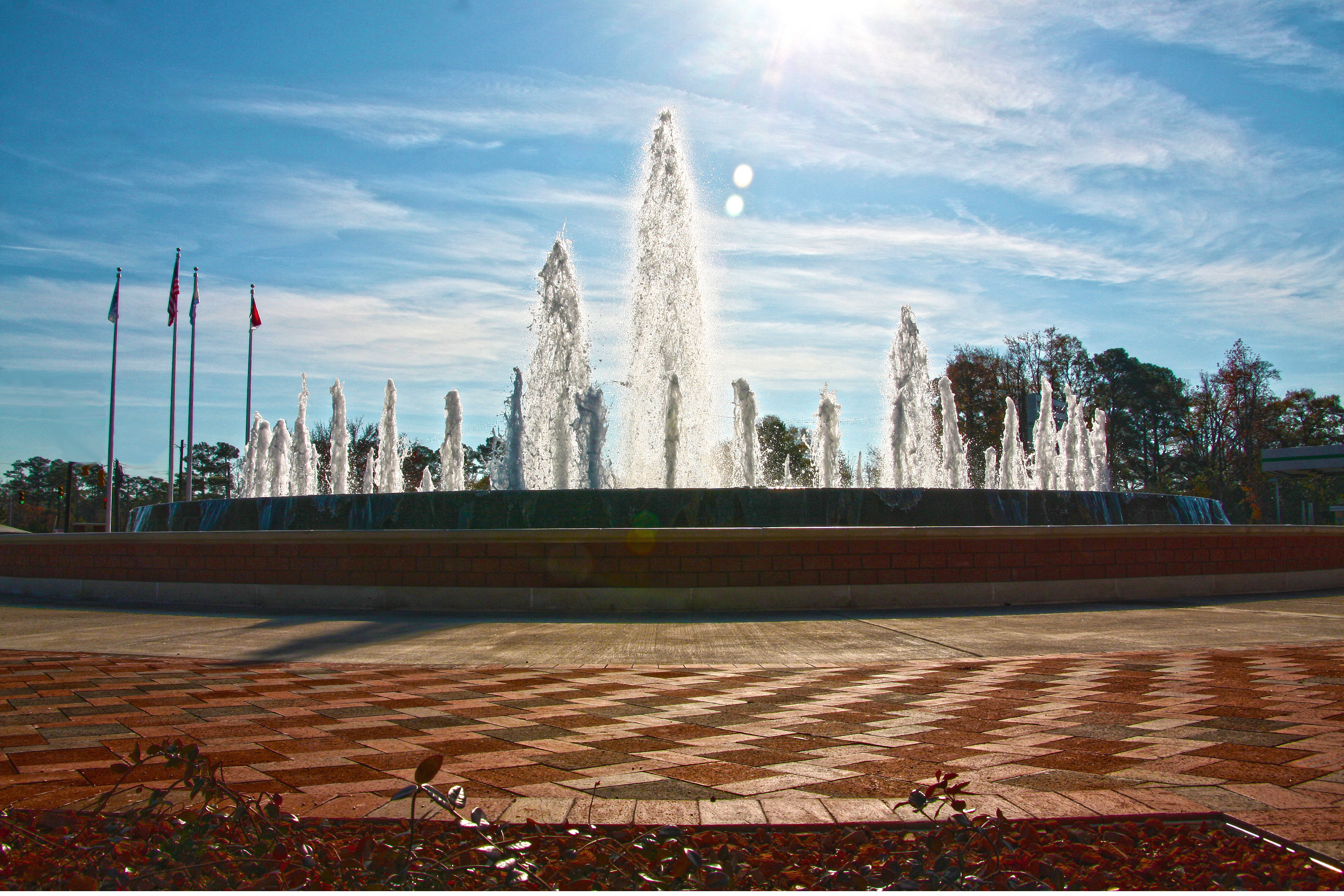 Freedom Fountain, Jacksonville, NC